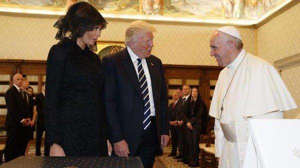 Rencontre entre le pape François et Donald Trump