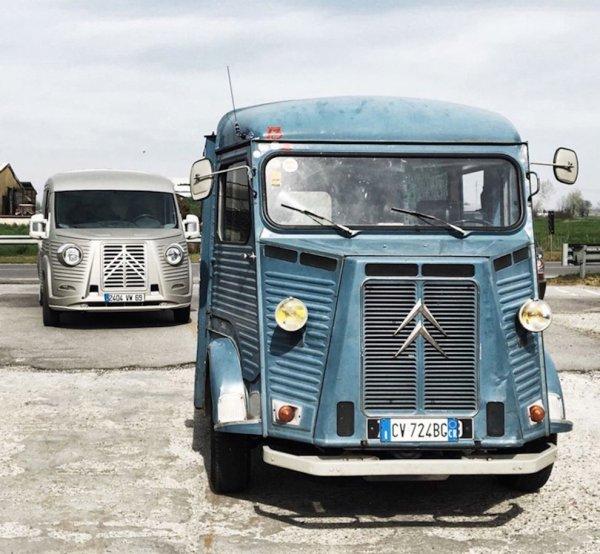 70ème anniversaire du Fourgon Citroën type H ..
