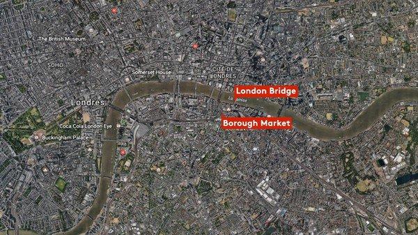 Double attentat de Londres : 6 morts et 48 blessés