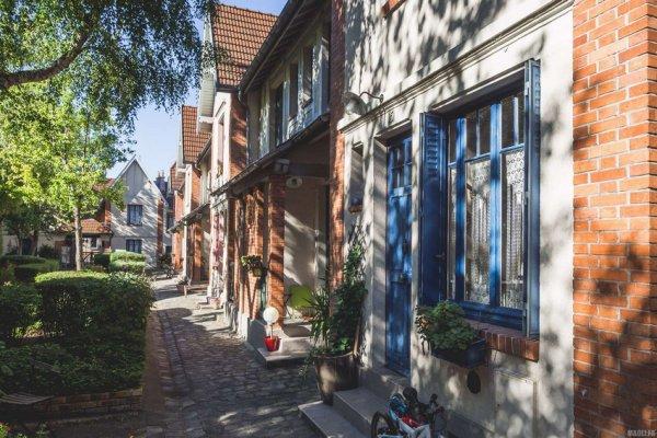 La petite alsace dans le 13e arrondissement de Paris