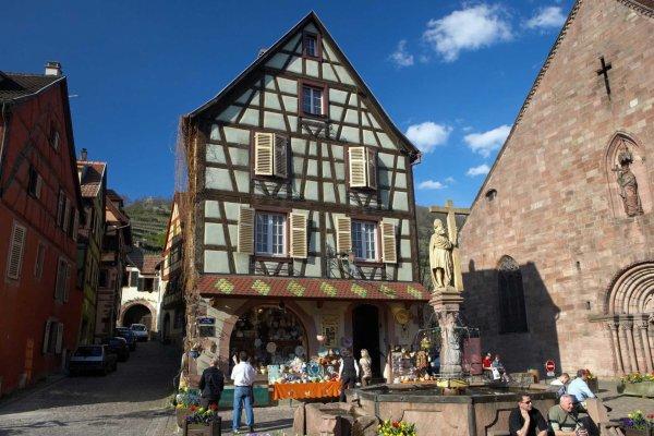 Kaysersberg : le Village préféré des Français est alsacien