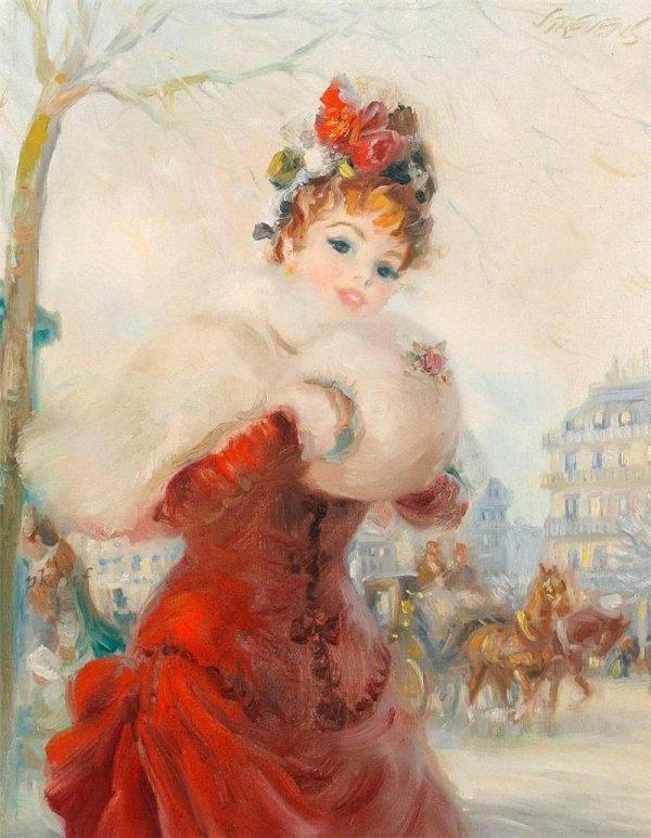 Les Belles Dames du temps passé ... par J.F.L. Strevens !