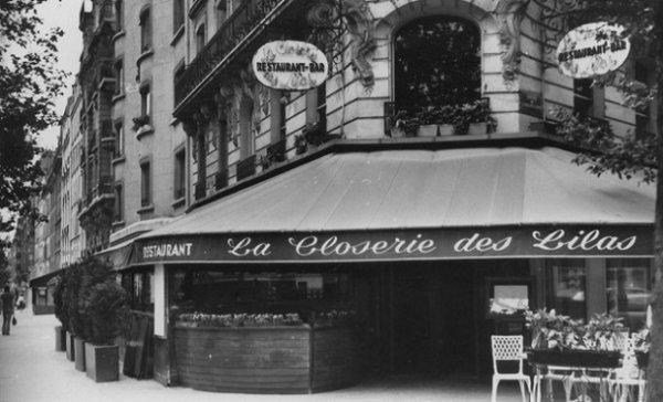 Café historique : la Closerie des Lilas