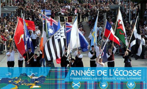 L'Écosse est l'invitée d'honneur du Festival interceltique !