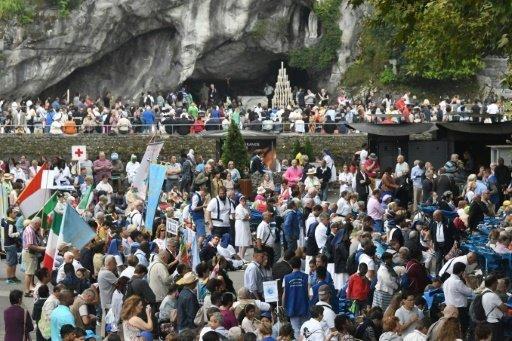Lourdes: 25.000 pèlerins sous haute surveillance