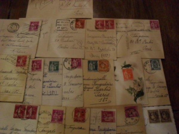La fabuleuse histoire du timbre poste