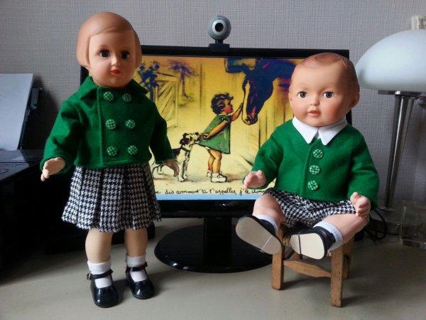 pour  les  fans de poupées
