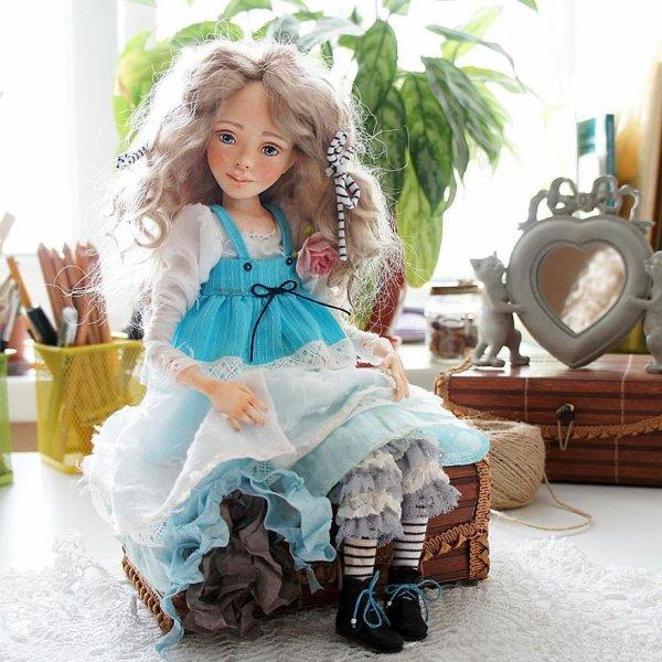 """Les poupées d'art dans le style Vintage"""" ..."""