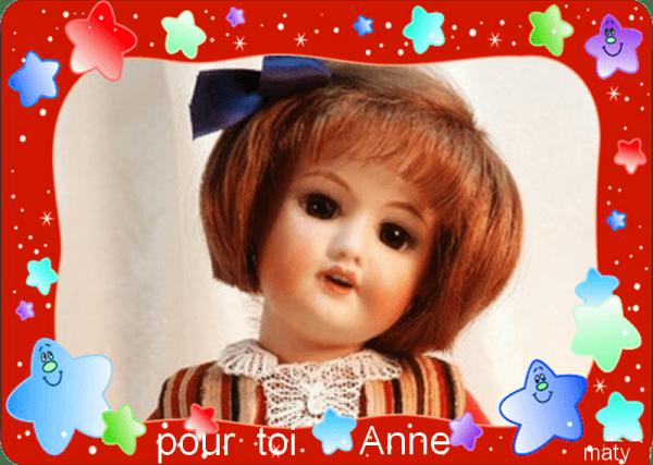 pour toi   ANNE (cendrillon )