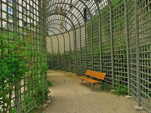 Balade au jardin Anne Frank ... à Paris !
