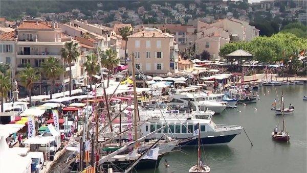 Le plus beau marché de France est celui de Sanary-sur-Mer !