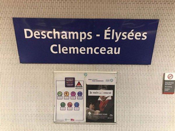 La RATP célèbre la victoire des Bleus ...