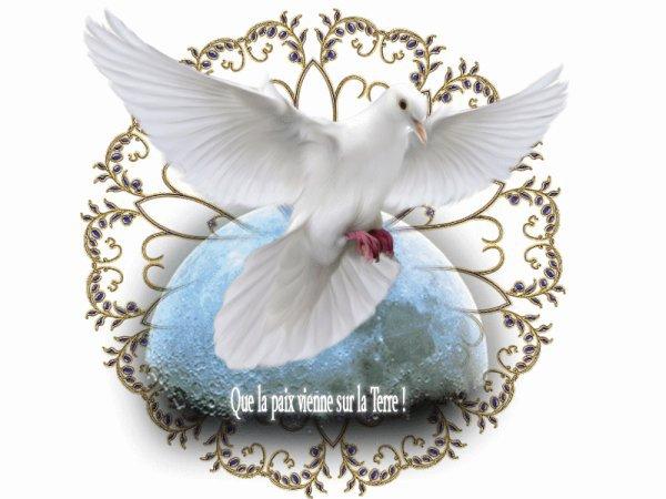 Nicole : La paix sur terre (en francais)