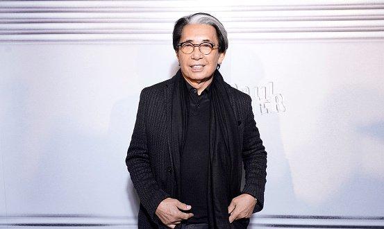 Le créateur japonais Kenzo s'est éteint à l'âge de 81 ans