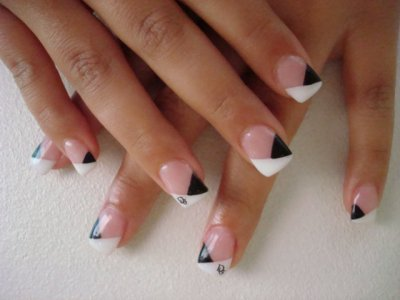 blog de french manicuure id e de french manicure pour. Black Bedroom Furniture Sets. Home Design Ideas