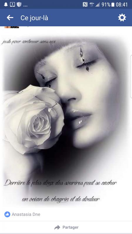 Il y aura tkt ces moments  où les souvenirs  référons  surface. ..tu manque mon ange ❤
