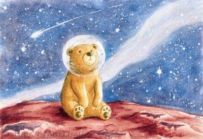 L'ours russe dans l'espace