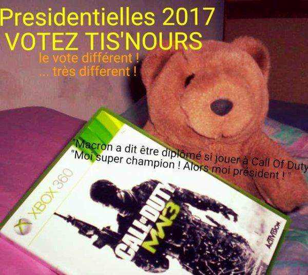 Présidentielle 2017 : le plus grand des petits candidats !