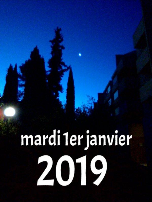 L'aube de la nouvelle année