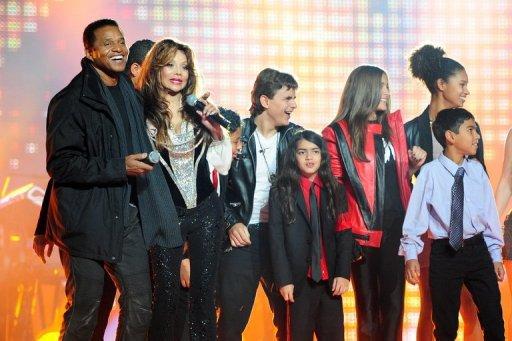 Les enfants de Michael Jackson présents au concert hommage au pays de Galles