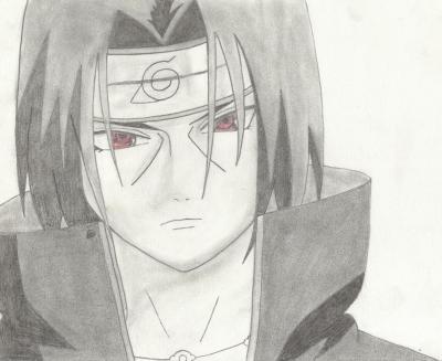 Itachi mes dessins - Dessin naruto et sasuke ...