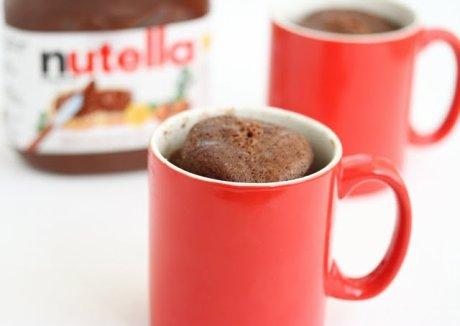 Recette : Mug Cake au Nutella