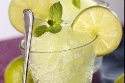 Cocktail : Granité limonade et citron vert