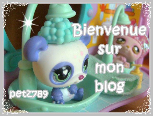 ^^~~Bienvenue sur mon Blog PetShop~~^^