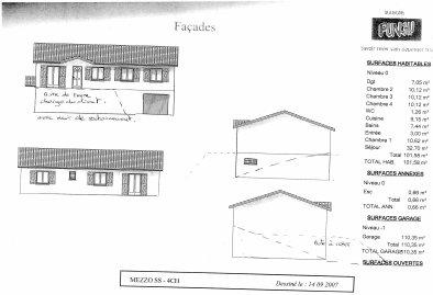 Modèle d'habitation prévue .