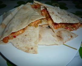 Pain libanais blog de chefalgerieno for Assaisonnement tacos maison