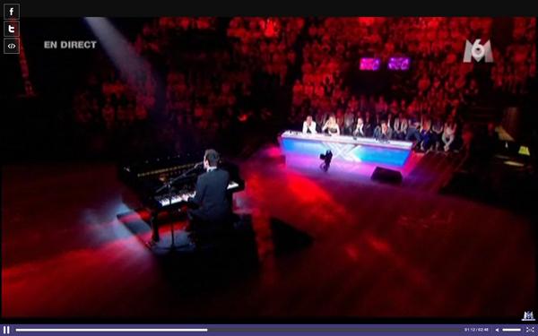 -- ▬ X-Factor     26 Avril 2011 Raphaël Herrerias reprend le dernier tube de Rihanna: S&M, au piano.--