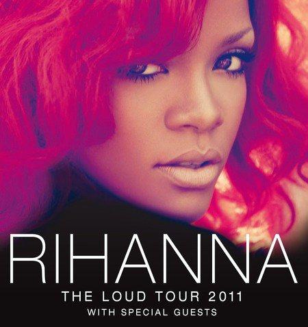 -- ▬ Loud Tour ||  Eté 2011 Voici les dates de la tournée américaine de Rihanna..--