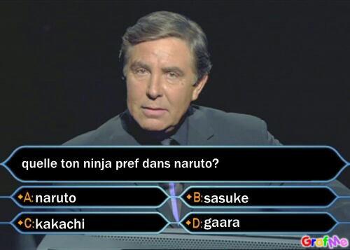 Quel et,votre ninja préféré dan naruto ?