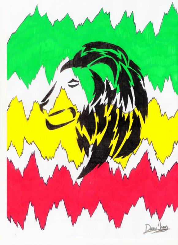 Rasta Vibes Lion