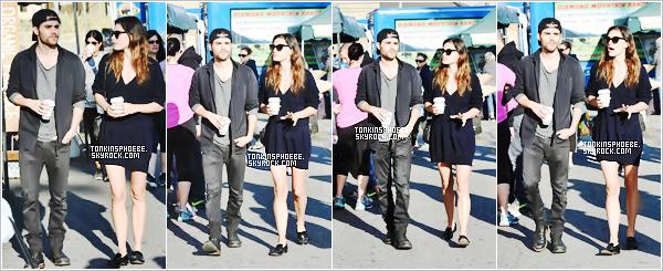 19/03/2017 : La belle Phoebe et le beau Paul se rejoingnant pour aller au Farmers Market  à Los Angeles. Nous retrouvons les deux se promenant dans les rue de LA, mais sont t'il ami ou toujours en couple c'est une affaire à suivre...