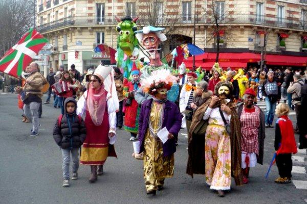 FRANCE, pas si froide.. de coeur; carnaval le 3 mars 2019