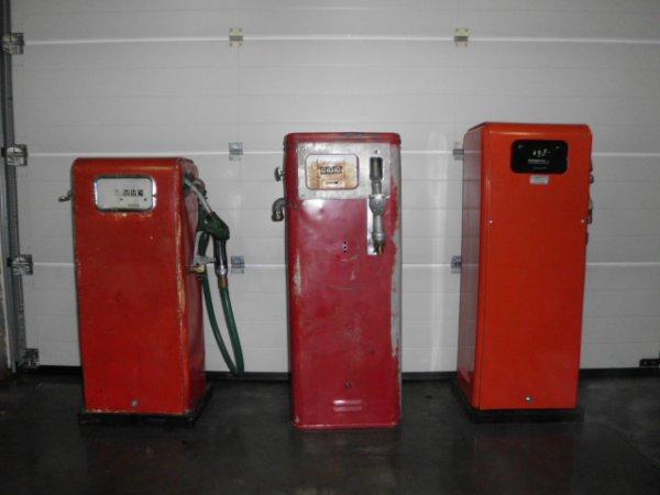 mes 3 pompe vintage