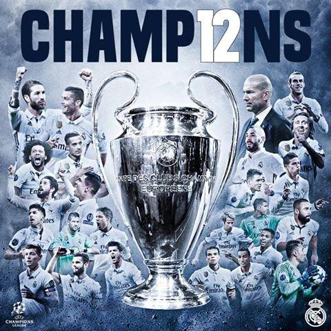 samedi 3 juin 2017 champion le real madrid