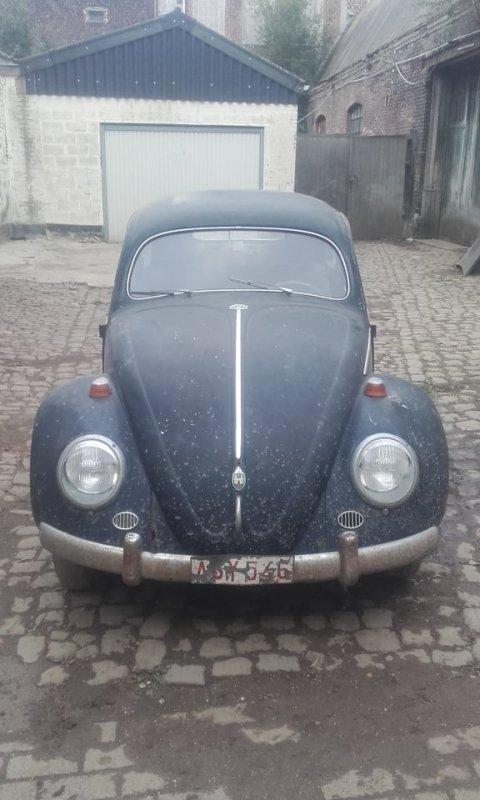 vw oval 1953