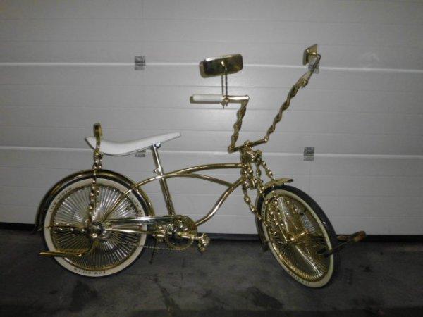 mon vélo lowrider avant est apres avec ca nouvel sel