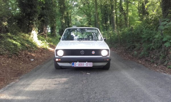 seance photo de ma golf mk1