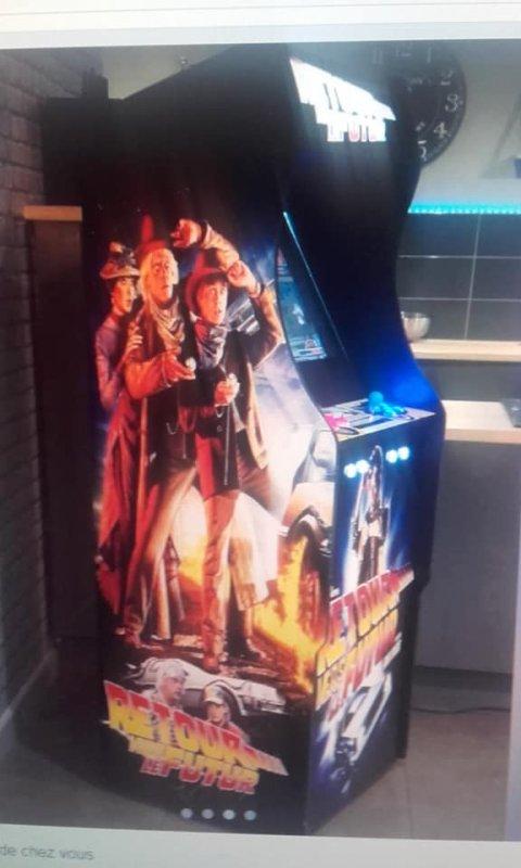 samedi 25 janvier 2019 Nouvelle aquisition borne d arcade  Plus ou moins 10000 jeux  Maison full stock