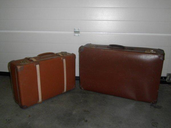 Trouvaille 2 valises vintage 4 octobre 2015