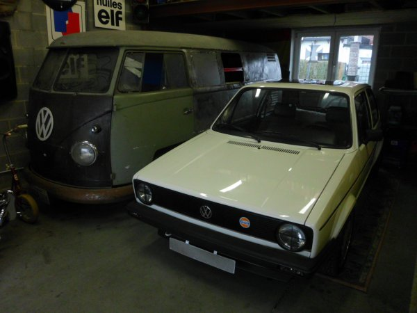 GOLF MK1 1.1 Rabbit LX DE 83  &  combi split tolé 1961