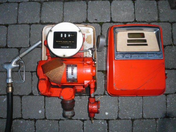 nouvel aquisition le 23 septembre 2014  (  Gasboy tête de pompe modèle 1820 Piédestal )