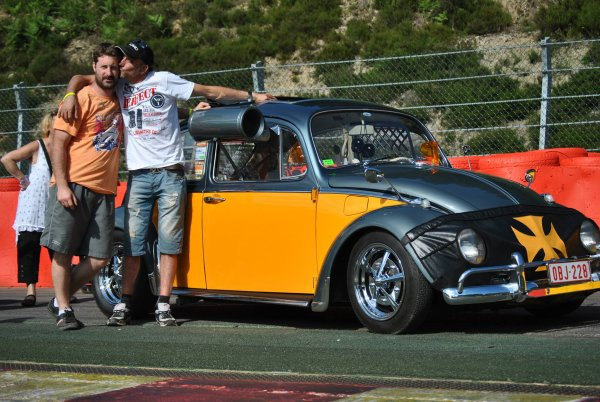 Vw bug Show  2 & 3 & 4  Aout 2013 Spa-francorchamps