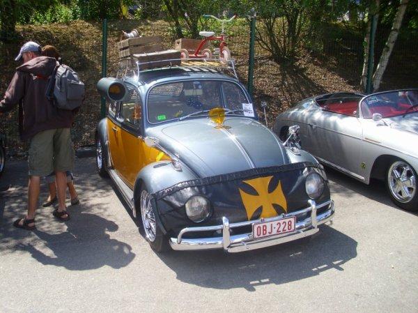 VW bug show 24 & 25 juillet 2010 spa - francorchamps