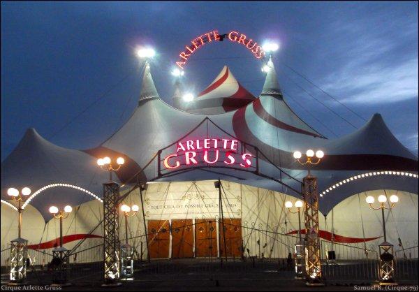 5ème partie ▪ Cirque Arlette Gruss ▪ La Rochelle (17)