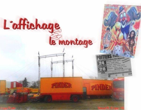 1ère partie ▪ Cirque Pinder ▪ Poitiers (86)