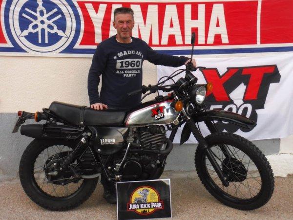 Rencontre Yamaha XT/SR 500 2018